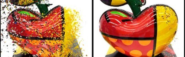 Buzz Romero Britto: orobouros digital e a estética do liso